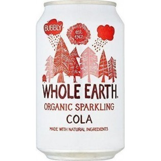 Whole Earth BIO-Cola χωρίς ζάχαρη 330ml