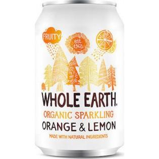 Whole Earth Αναψυκτικό Πορτοκάλι & Λεμόνι Xωρίς Προσθήκη Ζάχαρης 330ml