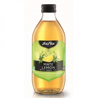 Yogi Tea Ice Tea Πράσινο Mate & Λεμόνι Bio 330ml
