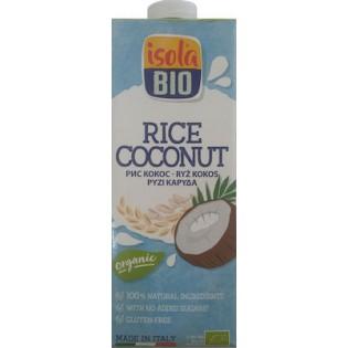 Isola Bio Βιολογικό Ρόφημα Ρυζιού με Καρύδα 1L