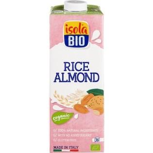 Isola Bio Βιολογικό Ρόφημα Ρυζιού με Αμύγδαλα 1L