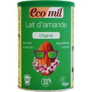 Ecomil Βιολογικό Γάλα Αμυγδάλου σε Σκόνη 400gr Χωρίς Γλουτένη