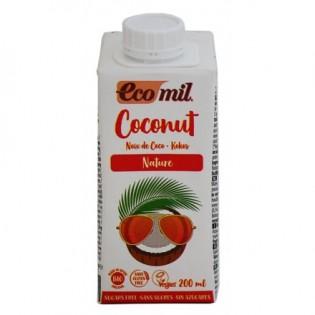 Ecomil Ρόφημα Καρύδας Βιολογικό Χωρίς Ζάχαρη 200ml