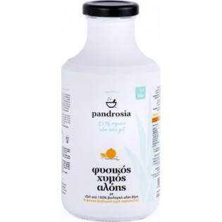 Pandrosia Φυσικός Βιολογικός Χυμός Αλόης με Πορτοκάλι 500ml