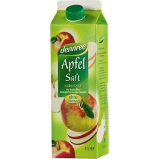 Dennree Χυμός Μήλο 1000ml ΒΙΟ