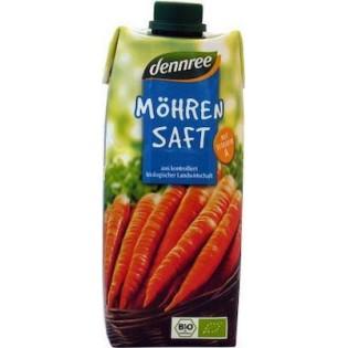 Dennree Χυμός Καρότο 500ml BIO