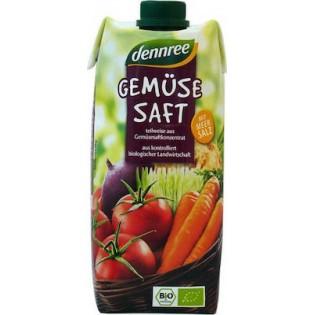 Dennree Χυμός Λαχανικών 500ml BIO