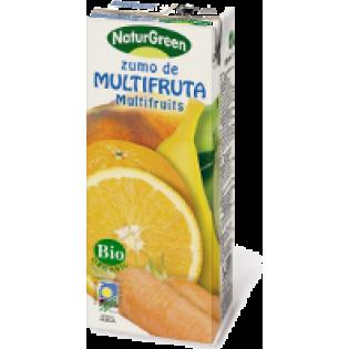 NaturGreen Χυμός φρούτων ανάμεικτος μίνι χωρίς ζάχαρη 200ml