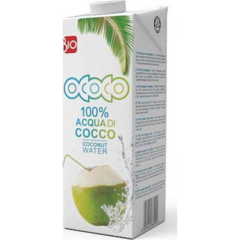 Ococo 100% Coconut Water Νερό Καρύδας 1lt ΒΙΟ