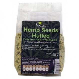 Mega Foods Σπόροι κάνναβης αποφλοιωμένοι (Hemp seeds hulled) 200gr