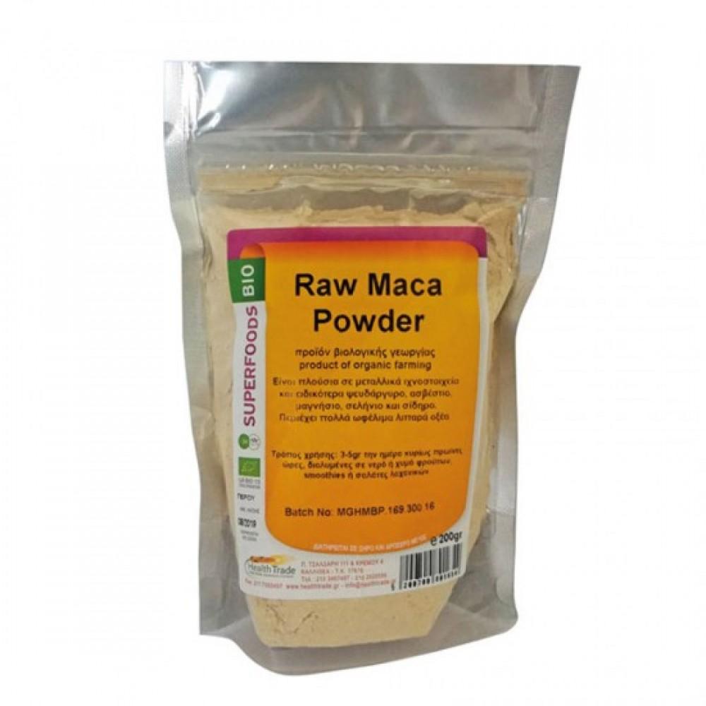 Health Trade Maca Powder 200gr ΒΙΟ