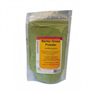 Health Trade Barley Grass (Κριθαρόχορτο) Powder 125gr