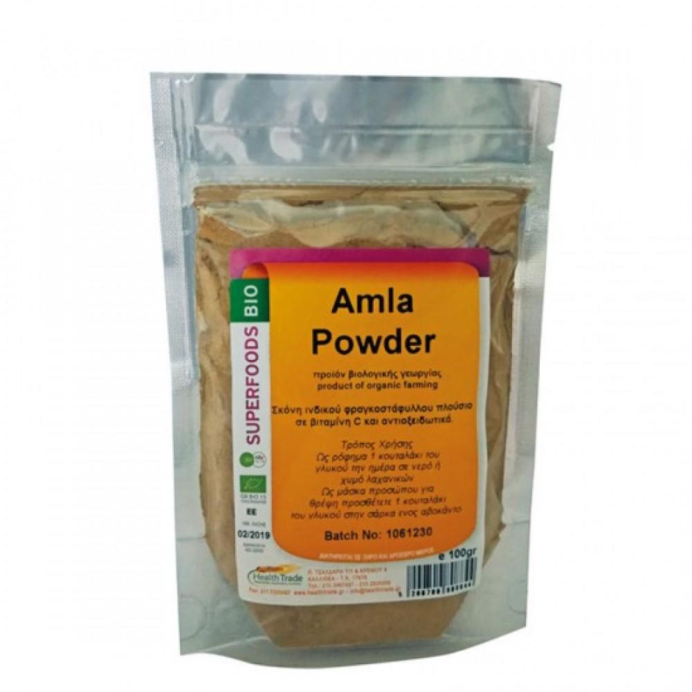 Health Trade Amla Powder 100gr ΒΙΟ