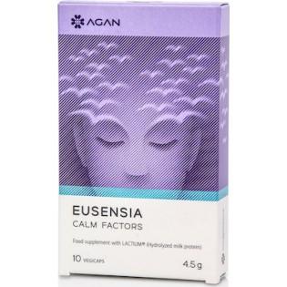 Agan Eusensia Calm Factors Καταπολέμηση Νευρικότητας & Πανικού 10caps