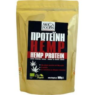 Mega Foods Hemp Protein (Πρωτεΐνη Κάνναβης) ΒΙΟ 800gr
