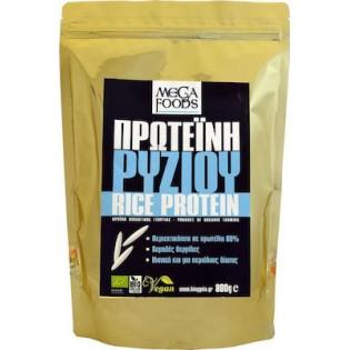 Mega Foods Rice Protein  Bio (Πρωτεΐνη Ρυζιού) 800ΓΡ