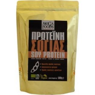 Mega Foods Soy Protein (Πρωτεΐνη σόγιας) 500gr