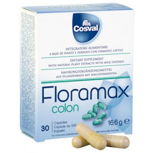 Cosval Floramax Colon 30 κάψουλες