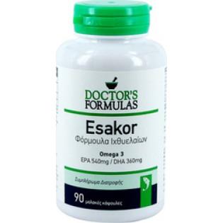 Doctor's Formulas Esakor - Φόρμουλα Ιχθυελαίων 90 κάψουλες