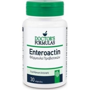 Doctor's Formulas Enteroactin - Φόρμουλα Προβιοτικών 30 κάψουλες