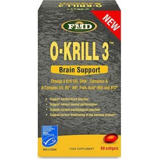 Flora FMD O-Krill 3 Brain Support 60 μαλακές κάψουλες