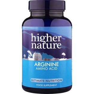 Higher Nature Arginine Amino Acid 120 κάψουλες