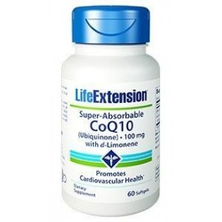 Life Extension Super-Absorbale CoQ10 D-Limon 100mg 60 μαλακές κάψουλες