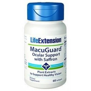 Life Extension MacuGuard Ocular Support 60 μαλακές κάψουλες