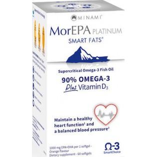 Minami MorEPA Platinum 60 μαλακές κάψουλες