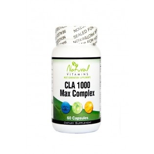 Natural Vitamins CLA Formula 1000mg with Fish Oil 60 ταμπλέτες