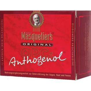 Masqueliers Anthogenol OPC 75 κάψουλες