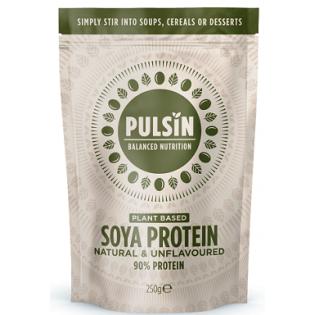 Pulsin Soya Protein (Πρωτεΐνη  Σόγιας) 250gr