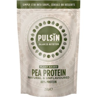 Pulsin Pea Protein Isolate (Πρωτεΐνη Αρακά) 250gr Unflavoured