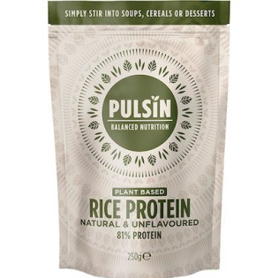 Pulsin Brown Rice Protein Unflavoured (Πρωτεΐνη από Φύτρα Καστανού Ρυζιού) 250gr