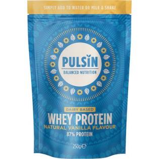 Pulsin Whey Protein Vanilla (Πρωτεΐνη Ορού Γάλακτος με Γεύση Βανίλια) 250gr