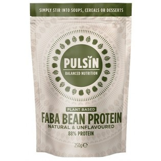 Pulsin Faba Bean Protein (Πρωτεΐνη Φάβας) 250gr Unflavoured