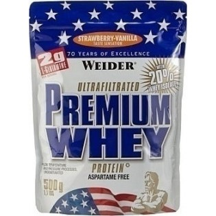 Weider Premium Whey 500gr Φράουλα Βανίλια