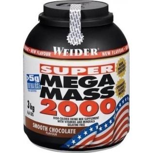 Weider Mega Mass 2000 3kg Chocolate