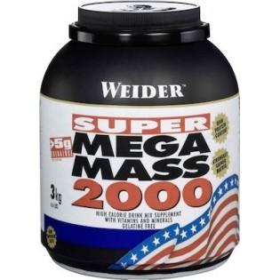 Weider Mega Mass 2000 3kg Cookies & Cream