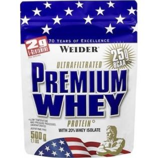 Weider Premium Whey 500gr Βανίλια Καραμέλα
