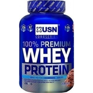 USN Whey Protein 100% Premium 908gr Σοκολάτα