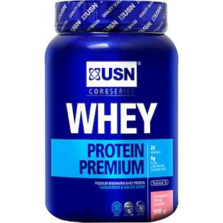 USN Whey Protein Premium 908gr Φράουλα