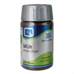 Quest Naturapharma Cell Life Antioxidant 30 ταμπλέτες