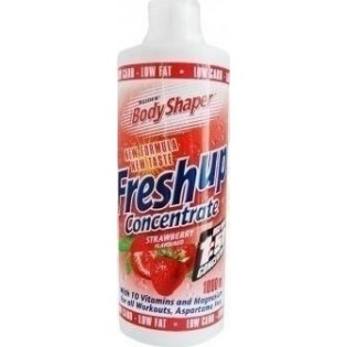 Weider Fresh up Concentrate 1000ml Strawberry