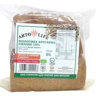 Artolife Βιολογικές Φρυγανιές Σίκαλης 100% 400gr