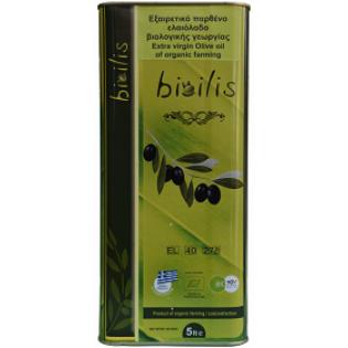 Bioilis Ελαιόλαδο Ηλείας 5lt BIO