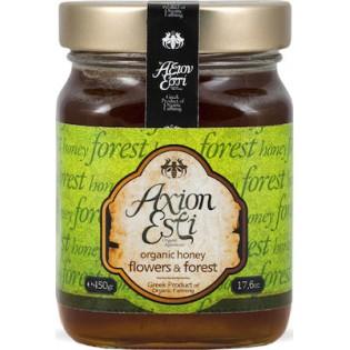 Άξιον Εστί Βιολογικό Μέλι Ανθέων & Δάσους 450gr