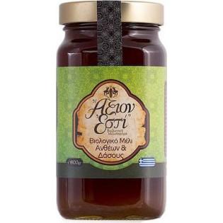 Άξιον Εστί Βιολογικό Μέλι Ανθέων & Δάσους 800gr