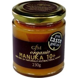 GFM Μέλι Βιολογικό Manuka 10+ 230gr