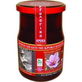 Ελληνικό Μέλι Μέλι Ανθέων με Κρόκο Κοζάνης 720gr